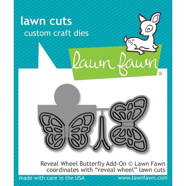 Lawn Fawn Dies (reveal wheel butterfly add-on)