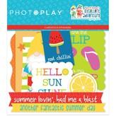 Photoplay Paper Ephemera Cardstock Die-Cuts (tulla & norbert's excellent adventure)
