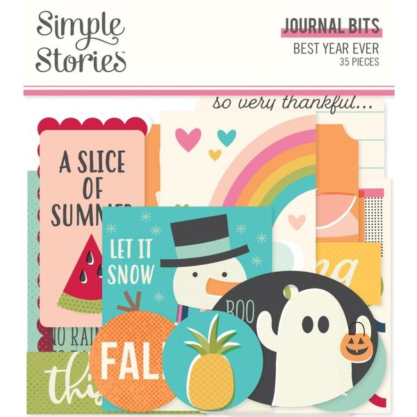 Simple Stories Bits & Pieces Journal Bits (best year ever)