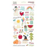 Simple Stories Chipboard Stickers 6X12 (best year ever)