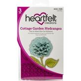 Heartfelt Creations Cut & Emboss Dies (cottage garden-hydrangea)