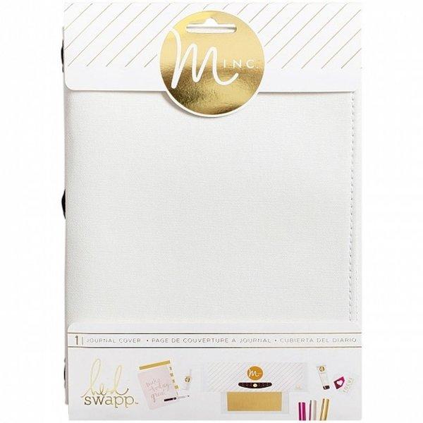 Heidi Swapp Minc Journal Cover 6x9 (white canvas)