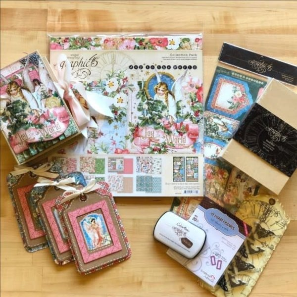 Graphic 45 Club G45 October 2019 Kit (joy to the world)