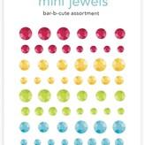 Doodlebug Adhesive Mini Jewels (bar-b-cute assortment)