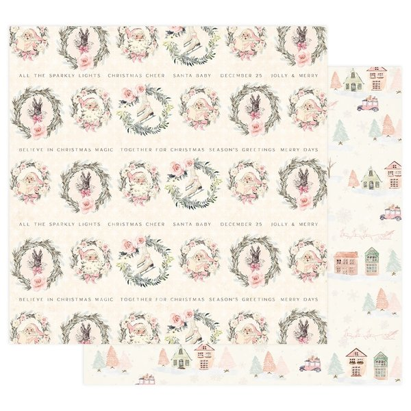 Prima Marketing Sugar CookieDouble-Sided Cardstock (together for christmas)