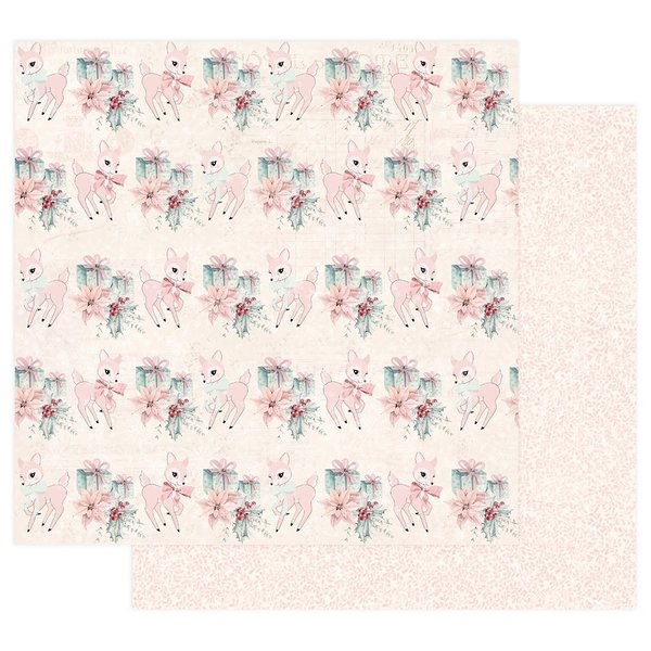Prima Marketing Sugar Cookie Double-Sided Cardstock (beautiful christmas)