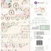 Prima Marketing 8x8 Paper Pad (sugar cookie) 6 Designs/5 Each