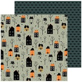 Pebbles Spoooky - 12x12 Double-Sided Cardstock (trick or treat)