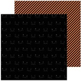 Pebbles Spoooky - 12x12 Double-Sided Cardstock (bad luck)