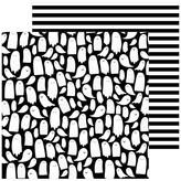 Pebbles Spoooky - 12x12 Double-Sided Cardstock (hey booo)