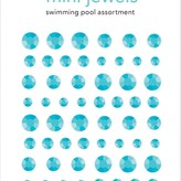 Doodlebug Adhesive Mini Jewels (swimming pool)