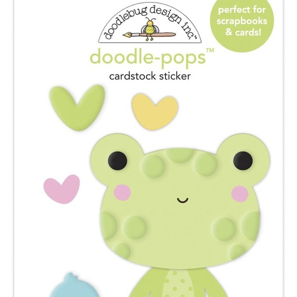 Doodlebug Doodle-Pops 3D Stickers - Bundle of Joy (hoppy day)