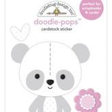 Doodlebug Doodle-Pops 3D Stickers - Bundle of Joy (beary cute)