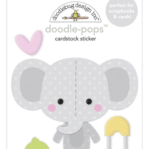 Doodlebug Doodle-Pops 3D Stickers - Bundle of Joy (elli-fun)