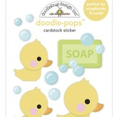 Doodlebug Doodle-Pops 3D Stickers - Special Delivery  (rubber ducky)