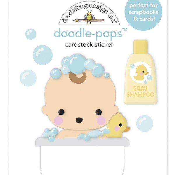 Doodlebug Doodle-Pops 3D Stickers - Special Delivery (bathtime)