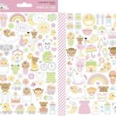 Doodlebug Mini Cardstock Stickers (bundle of joy icons)