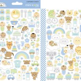 Doodlebug Mini Cardstock Stickers (special delivery icons)