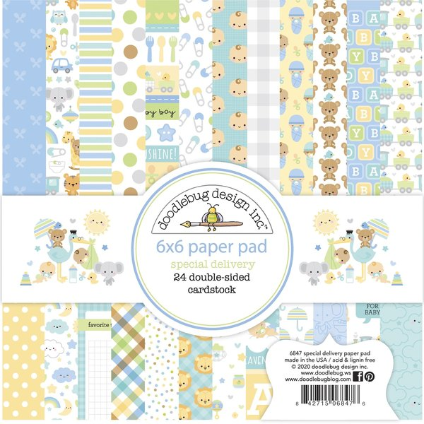 Doodlebug Paper Pad 6X6 (special delivery)