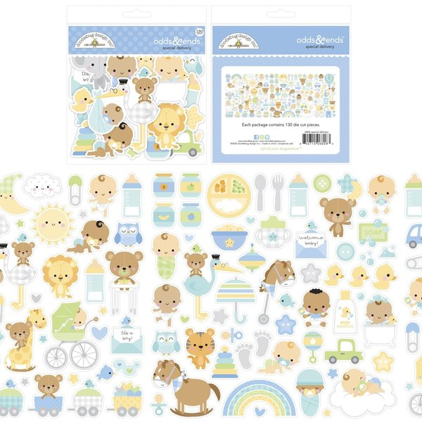 Doodlebug Odds & Ends Die-Cuts (special delivery)