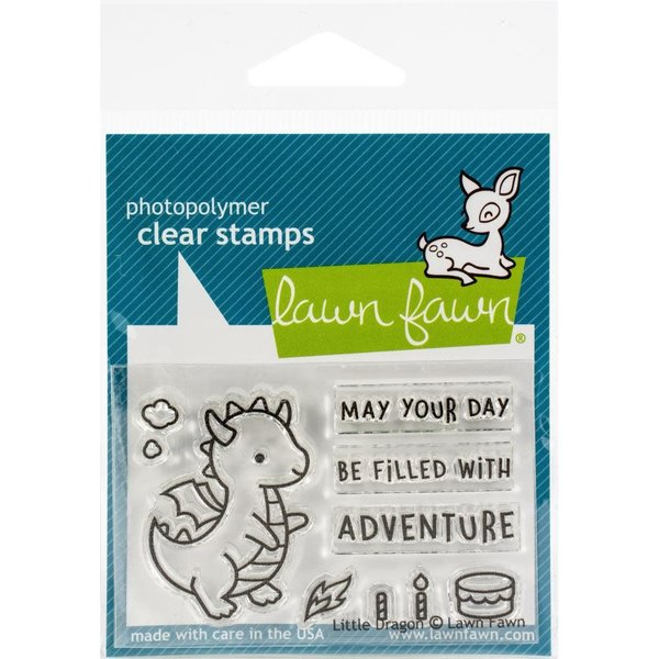 Lawn Fawn Clear Stamps (little dragon)