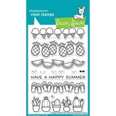 Lawn Fawn Clear Stamps 4X6 (simply celebrate summer)