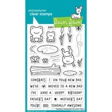 Lawn Fawn Clear Stamps (toadally awesome)