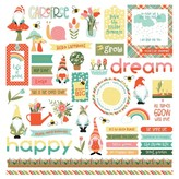 Photoplay Paper Element Stickers 12X12 (tulla & norbert)