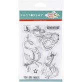 Photoplay Paper Photopolymer Stamp (dragons)
