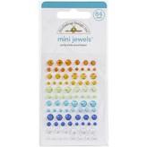Doodlebug Adhesive Mini Jewels (party time assortment)