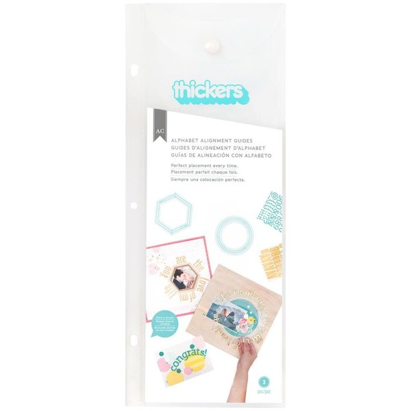 We R Memory Keepers Thickers Alignment Guides (circle)