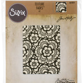 Tim Holtz - Sizzix Texture Fades Embossing Folder-Lace By Tim Holtz