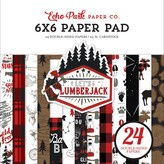 Echo Park Paper Double-Sided Paper Pad 6X6  24/Pkg-Let's Lumberjack