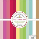 Doodlebug Textured Double-Sided Cardstock 12X12 Pack-Night Before Christmas