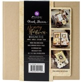 Prima Marketing Memory Hardware Chipboard Journal (magnetic kraft 8 pgs)