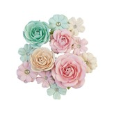 Prima Marketing Mulberry Paper Flowers (pink jolly/sugar cookie)