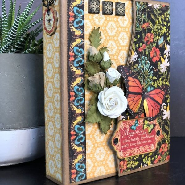 Graphic 45 Club G45 January 2021 Kit (Nature Notebook)