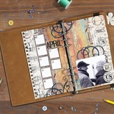 Elizabeth Craft Designs Metal Die (planner essentials 10)