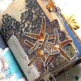 Elizabeth Craft Designs Clear Stamps (water creatures-art journal)