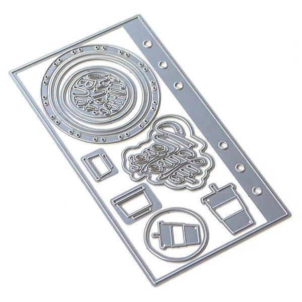 Elizabeth Craft Designs Metal Die (sidekick essentials 4)