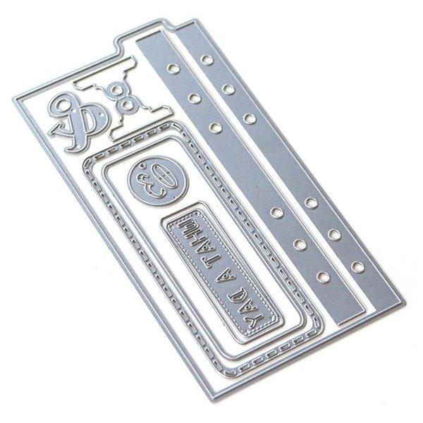 Elizabeth Craft Designs Metal Die (sidekick essentials 5)