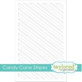 Taylored Expressions Mini Slim Stencil (candy cane stripe)