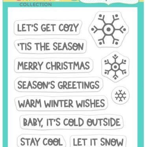 Taylored Expressions Stamps (winter wishes)