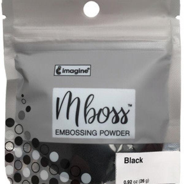 Imagine Mboss Embossing Powder (black)