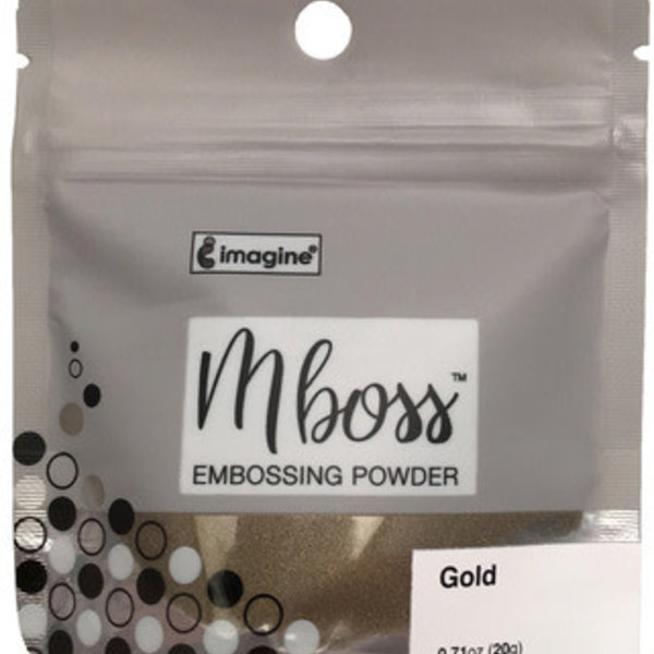 Imagine Mboss Embossing Powder (gold)