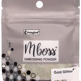 Imagine Mboss Embossing Powder (gold glitter)