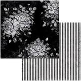 BoBunny Double-Sided Cardstock 12x12 - Tuxedos & Tiaras (tuxedos & tiaras)