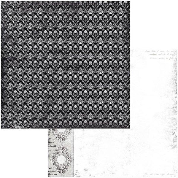 BoBunny Double-Sided Cardstock 12x12 - Tuxedos & Tiaras (elegance)