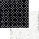 BoBunny Double-Sided Cardstock 12x12 - Tuxedos & Tiaras (dot)