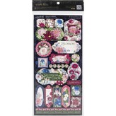Graphic 45 Cardstock Stickers 12X12 (blossom)